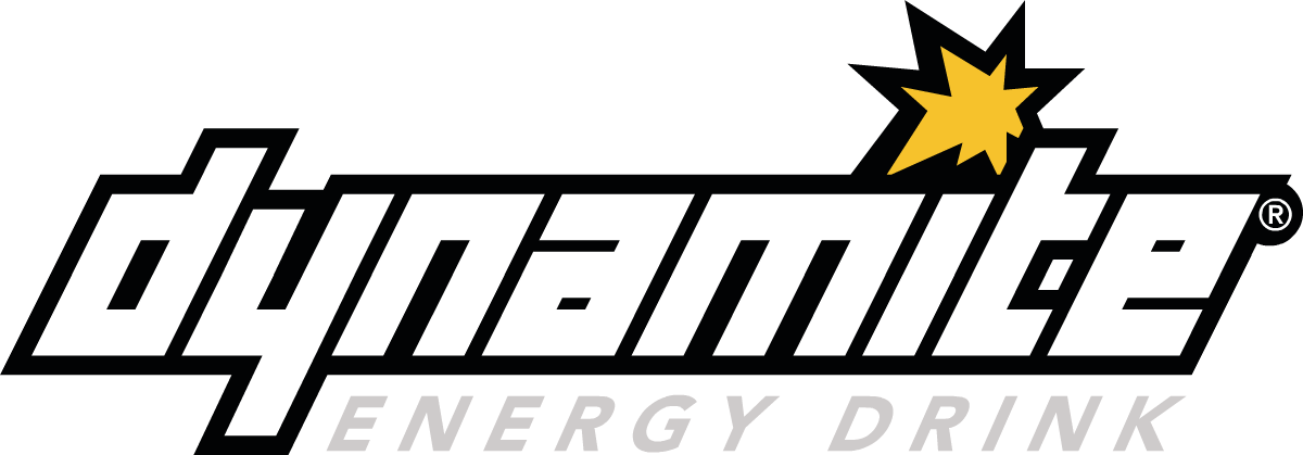 Get More Out of Life - Dynamite Energy Drink Logo